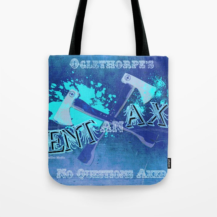 Axe Us About Our Deals! Tote Bag