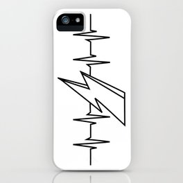 Bowie Heartbeat iPhone Case