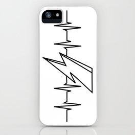 Bowie Heartbeat iPhone Case