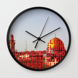 G.H.N.R. Wall Clock