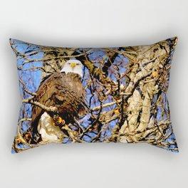 Bald Eagle (9279) Rectangular Pillow