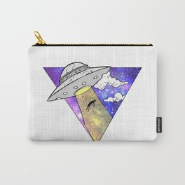 UFO Abduction of Man Carry-All Pouch