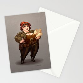 Lady Calpurnia Oxboxer Stationery Cards