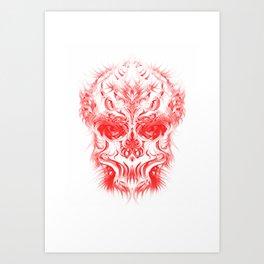 RedSkull 2015 Art Print