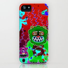 Flesh and Teeth's iPhone Case