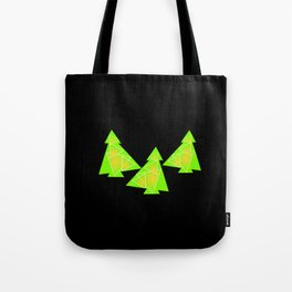 Three little trees Tote Bag
