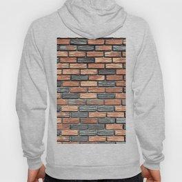 Bricks In The Wall Pattern Hoody