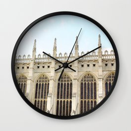 King's College Chapel, Cambridge Wall Clock
