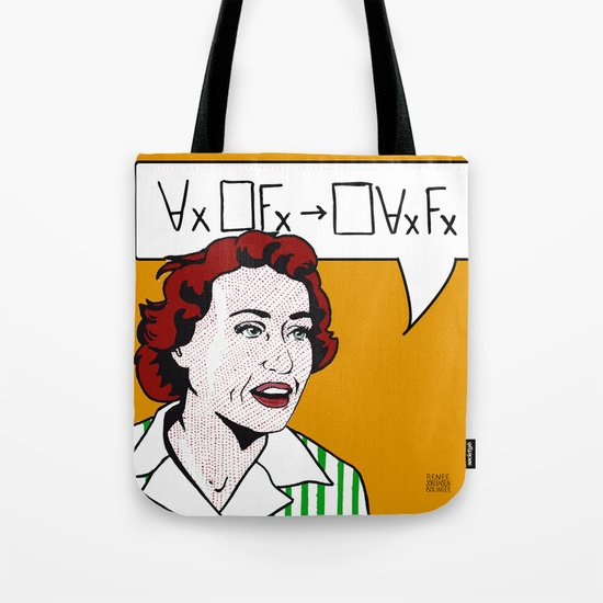 Ruth Barcan Marcus Tote Bag