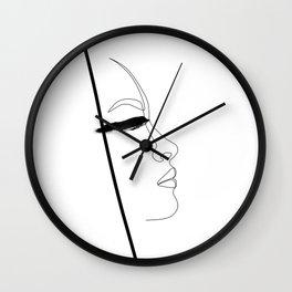 Blindly beautiful Wall Clock