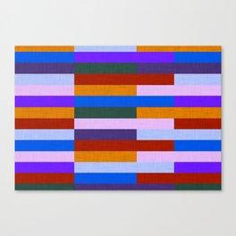 Kilim Fall Colors Purple Orange #homedecor Canvas Print