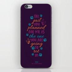 The Color Purple's Celie iPhone & iPod Skin
