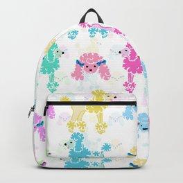 Pastel Poodles Backpack