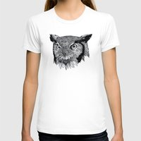 owl T-shirts featuring Owl by Puddingshades