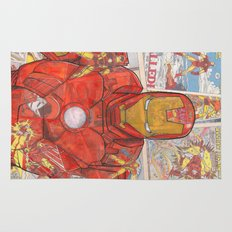 Vintage Comic Ironman Rug