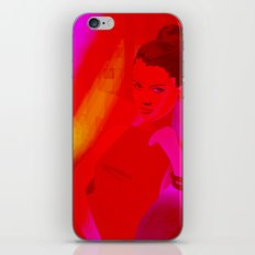 magenta baby iPhone & iPod Skin