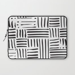 Weave in Black Laptop Sleeve