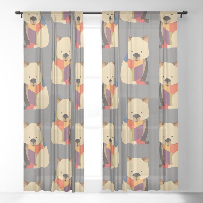 Wombat Sheer Curtain