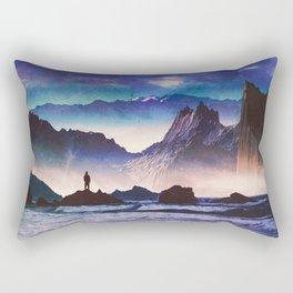 Desolate Coast Rectangular Pillow