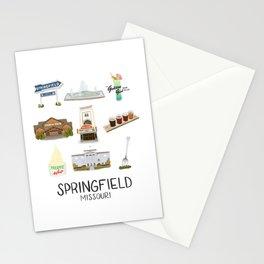 Springfield, Missouri Stationery Cards