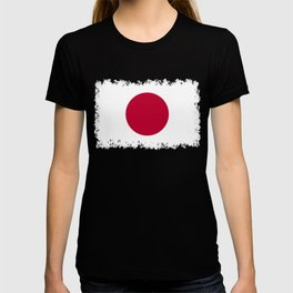 Flag of Japan, High Quality Image T-shirt