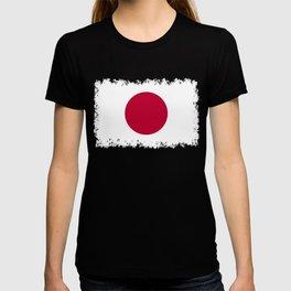 Flag of Japan, High Quality Image T-shirt