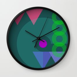 On With the Show! Wall Clock