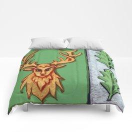 Verte Tente Blasonnery Comforters