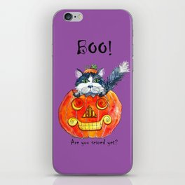 Boo! iPhone Skin