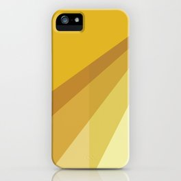 New Heights - Gold iPhone Case