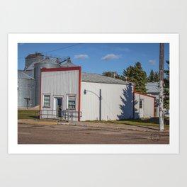 Post Office, Goodrich, North Dakota 1 Art Print