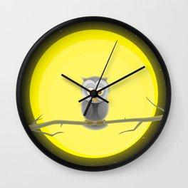 Night owl Wall Clock