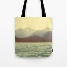 You are a ghost to me - Diablo Lake Tote Bag