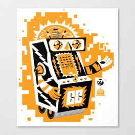 VideoBot Canvas Print