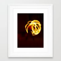 globe Framed Art Prints featuring globe by richporter