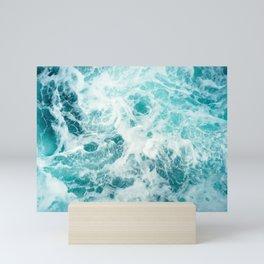 Ocean Sea Waves Mini Art Print