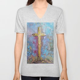 Colors of the Cross Unisex V-Neck