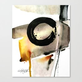 Enso Abstraction No. 105 by Kathy morton Stanion Canvas Print