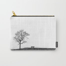 Bench Beneath Tree Carry-All Pouch