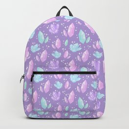 Magical Crystals // Purple Backpack