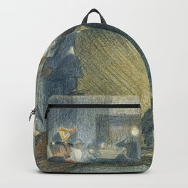 """Théophile Steinlen """"Le Bal Musette: The Dance"""" Backpack"""
