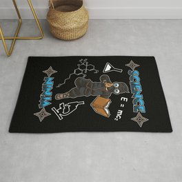 Science Ninja - Scientist Laboratory Logic Nerd Rug