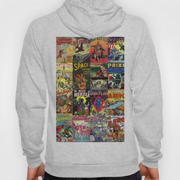 Comic Book Collage II Hoody