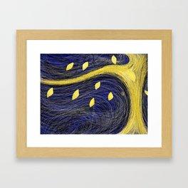 Golden Light Tree - Golden Light 3 Framed Art Print