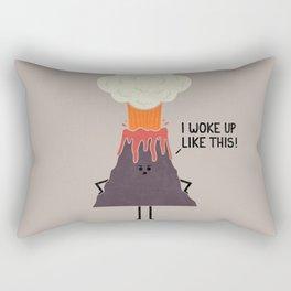 Woke Up Like This Rectangular Pillow