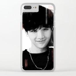 Suga Clear iPhone Case