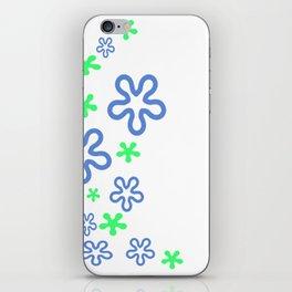 Spring Flower Design iPhone Skin