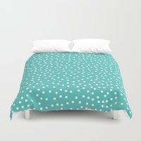 dots Duvet Covers featuring Dots. by Priscila Peress