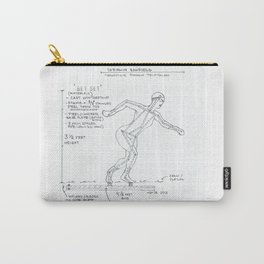 Get Set Drawing, Transitions through Triathlon Carry-All Pouch