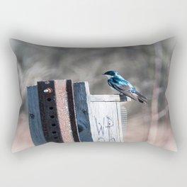 Tree Swallow Rectangular Pillow